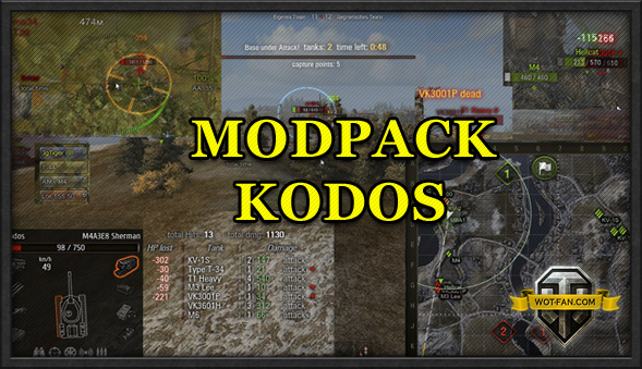 Mod pack English для World of Tanks 0.9.6