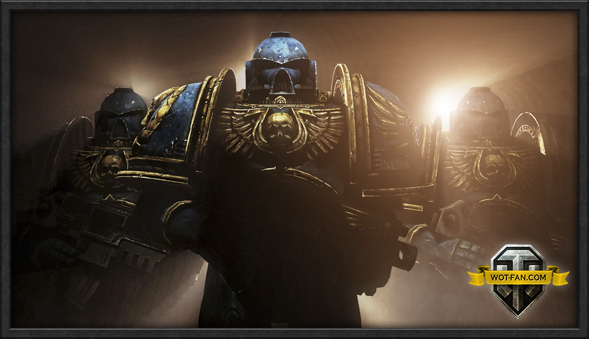Озвучка экипажа Warhammer 40 000 (Space Marines) для World of Tanks 0.9.17.0.2