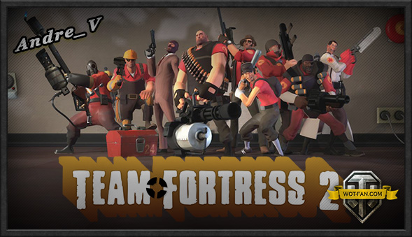 Озвучка экипажа Team Fortress 2 для World of Tanks 0.9.17.0.2